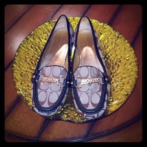 💞💝COACH EILEEN LOAFERS WITH LOGO💝💞